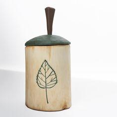 Little birch shrink pot by Derek Brabender