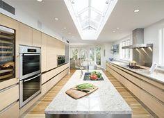 Love big kitchens.