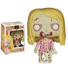 Top 99 Gift Ideas for The Walking Dead Fans | Gifts For Gamers & Geeks - Zombie Girl With Teddy Bear Funko Pop!