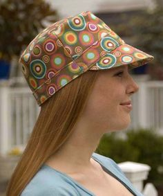 Cadet Cap pattern for children and adults by Betz White | The best sewing patterns for women, girls, toys and more. Go To Patterns & Co.