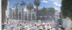 Santa Cruz de La Palma wird heute eingepudert