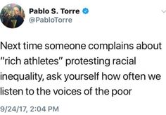 How often do we listen to the voices of the poor?