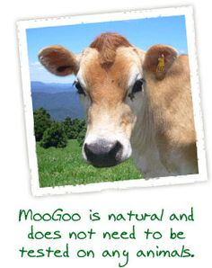 Moo Goo...my favorite natural skin care products...smells like a dream!