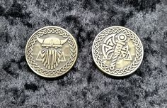 Valkyrie Gold Coins (set of 10)