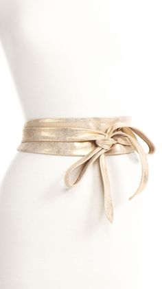 Gold Wrap Belt