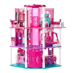215.99 Barbie Doll Dream House Includes working elevator and even a person singing in the shower! Amazing Barbie Doll Dream House is a giant 3-stories tall for all kinds of fun activities.