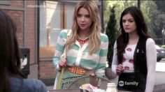 Aria and Hanna and their fashion - Cultural Inspiration
