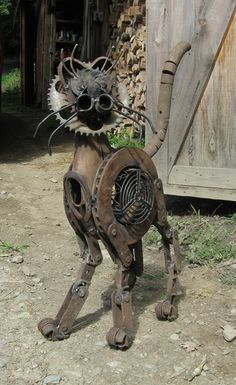 Iron Cat I love this cat! I so want to make one!