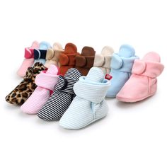 """Universe of goods - Buy """"Winter Newborn Walking Shoes For Baby Boy Warm Wool Floor Booties Non-Slip Unisex Toddler Crib Shoes Infant First Walkers """" for only USD. Winter Newborn, Baby Winter, Baby Newborn, Newborn Girls, Baby Boots, Kids Boots, Baby Girls, Estilo Navy, Black Friday"""
