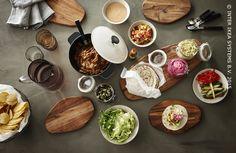 De wereld op je bord. SITTNING snijplank #IKEABE #aantafel #taco