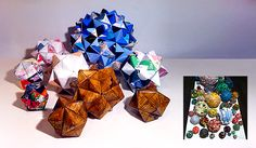 HOW TO make small octahedral origami accessories   Relevé Design