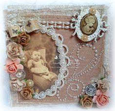 handmade card, cameo, roses, vintage, Pearls, Pearl Strings, Hobby House
