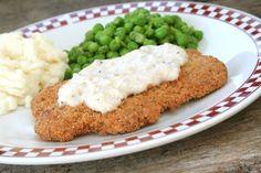 Crispy Chicken Fried Steak - Weight Watchers