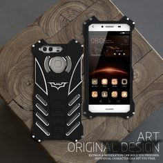 >> Click to Buy << Luxury Doom armor Dirt Shock Anti-knock Metal Aluminum phone bags case For huawei mate 7 8 9 case cover+BATMAN bracket #Affiliate