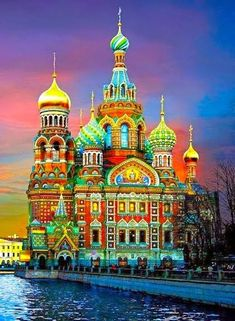 Russia. So beautiful, at least I can admire it online because I can't go to Russia now. I wish to keep my head attached to my shoulders.