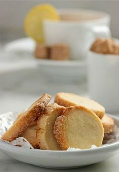 French pastry....Lemon Butter Cookies