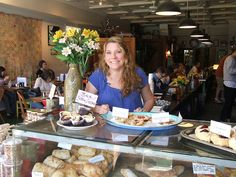 Cynthia Gerlach of Bottletree Bakery in Oxford, MS, by the Southern Foodways Alliance via Flickr.