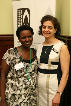 Sophie managed to survive the genocide and sought refuge in the UK. Today she lives in London, has three children and works as a nurse. She is also supporter of HMDT's work: 'I want people to learn from the past and move on and do right.' In 2014 she told her story to an audience of over 400 people at the HMD 2013 Commemorative Event and has shared her story with MPs at the House of Commons. #RefugeesContribute