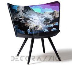 #armchair #furniture #interior #design стул без подлокотников Cappellini Embroidery, EMB1