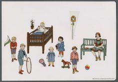[Colección de recortables]. Grabado — 1905