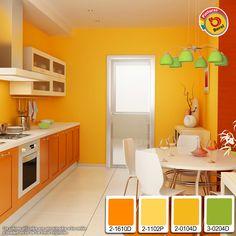 Cocina comedor on pinterest pintura colors and retro - Combinacion de colores para comedor ...