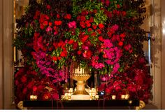 Our Muse - Ornate Red and Gold Wedding at the St. Regis - Be inspired by Laura & Evan's ornate red and gold wedding at the St. Regis in New York City - st. regis, wedding, red, luxury, new york city, wedding rings, grand central station, bride, groom, ornate, opulent, red flowers, rose petals, gold