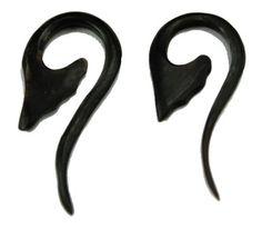 (SKU NO:SEW_888) A Pair of Coconut Earrings Coco Wood Wooden Boho Hippie Earrings Krishna Mart India