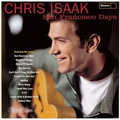 """""""San Francisco Days"""" more than any of Chris Isaak's earlier albums seemed more timeless, more enjoyably out of place, than before, an effect heightened by the intentionally '60s-styled cover art and design, right down to the listing of the song titles on the front. The album peaked at #35 on Billboard 200 and produced the single """"Can't Do A Thing (To Stop Me)"""" which charted at #7 on Billboard Modern Rock Tracks and #11 on Adult Contemporary Charts. (Vinyl LP)"""