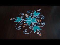 Indian Rangoli Designs, Rangoli Designs Flower, Rangoli Border Designs, Rangoli Ideas, Rangoli Designs With Dots, Rangoli Designs Images, Rangoli With Dots, Beautiful Rangoli Designs, Simple Rangoli
