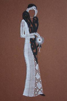 Paličkovaná krajka MP Bobbin Lacemaking, Types Of Lace, Lace Crowns, Lace Art, Bobbin Lace Patterns, Point Lace, Lace Jewelry, Lace Making, Cutwork