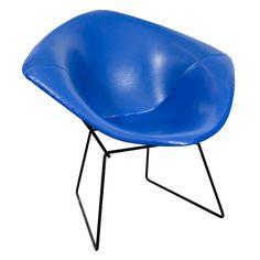 "Mid Century ""Diamond"" Chair by Harry Bertoia for Knoll  2750."