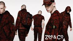 Stone Island camo collection has landed! Shop now online at www.zeeandco.co.uk