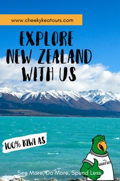 We're a locally owned and operated tour company based in the South   Island, New Zealand. With us, you will See More, Do More, Spend Less. Adventure Tours, South Island, See It, New Zealand, Sustainability, Explore, News, Adventure Travel, Sustainable Development