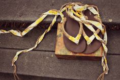 Flip flops 2.0:  http://kellyhicksdesign.com/2011/04/fashion-friday-diy-summer-sandals/