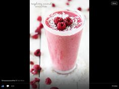 Raspberry Smoothie!