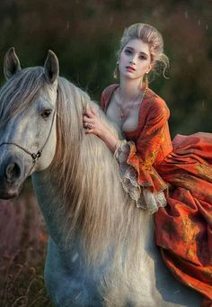 Beautiful Girl Image, Girls Image, Equestrian, Romantic, Horses, Woman, Lady, Board, Animals