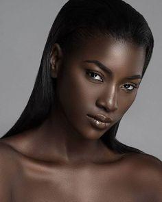 African beauty, my black is beautiful, beautiful women, dark skin beaut Beautiful Dark Skinned Women, Beautiful Black Girl, Beautiful Eyes, Beautiful Drawings, Beautiful Women, Dark Skin Makeup, Dark Skin Beauty, Best Natural Makeup, Natural Hair