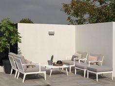 gartenmöbel aluminium sitzgruppe lounge murano 265x205 cm taupe, Gartenarbeit ideen