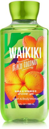 Waikiki Beach Coconut Shower Gel - Signature Collection - Bath & Body Works