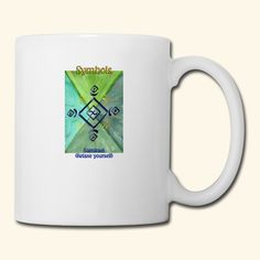 """""""Samirael"""" - Universal Healing Symbol - Aufdruck auf Tasse. Samirael = entspanne dich"""