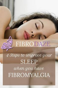 Improving sleep when you have fibromyalgia is best-managed in a step-wise fashion. There are 4 steps to finding the right strategies that help you sleep. Food For Sleep, Fibromyalgia Causes, Environmental Factors, Sleep Remedies, Depression Symptoms, Sleep Quality, Sleep Problems, Good Sleep, How To Fall Asleep