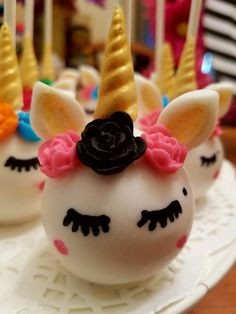 Unicorn Cake Pop! The Cake Pop Fairies #THECAKEPOPFAIRIES