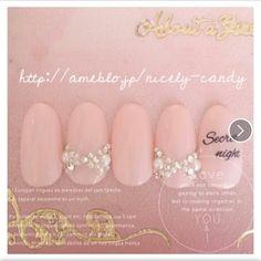 Nail Art Manicure polisher pink pearl