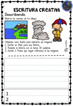 Bilingual Education, Preschool Education, Creative Writing, Writing Tips, Spanish Classroom Activities, English Idioms, Spanish Language Learning, Dual Language, Writer Workshop