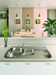 73105   NuGleam 1080 Kitchen Sink by Everhard Industries