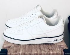 Nike board shoes all white middle low top air force 1 315112