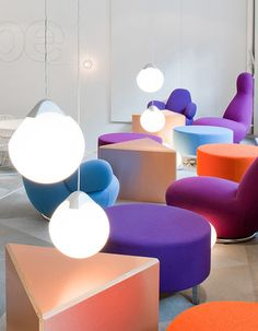 Lucu bangeedhhh!! Skype offices, cool furniture