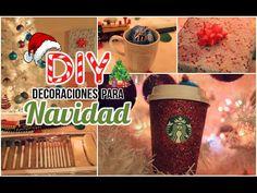 DIY Decoraciones para Navidad + SORTEO. - YouTube