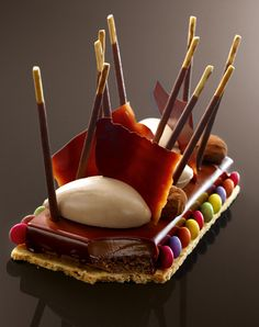 "French Chef francés ""Christophe Michalak"" Creation #French #dessert #patisserie…"