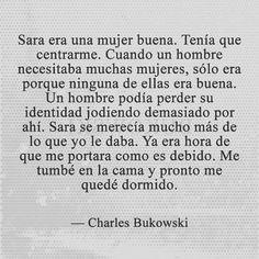 Charles Bukowski L E T R A S T Frases Citas Y Poesa